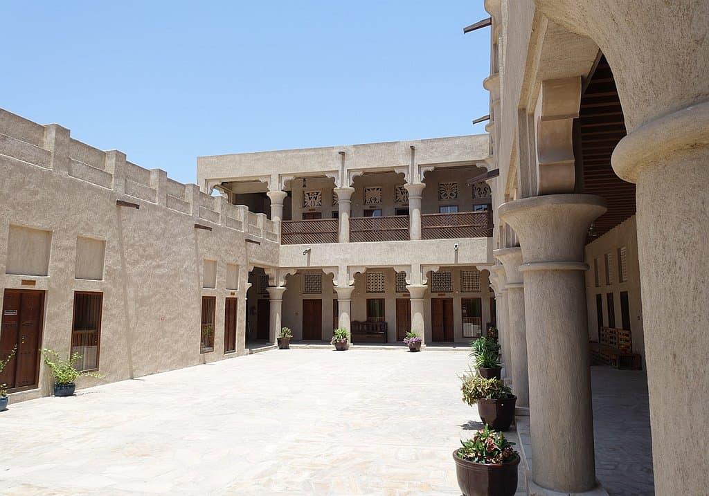 Al Shindagha Innenhof Dubai