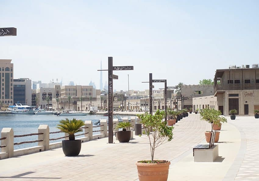 Creek Promenade Shindagha