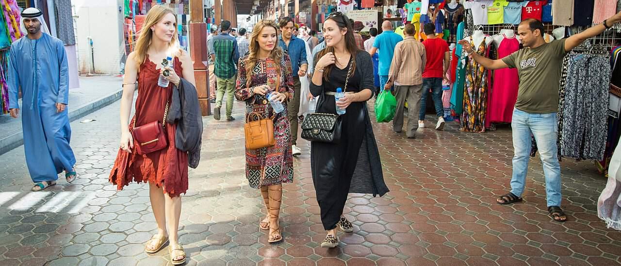 Shopping Malls, Märkte und Souks