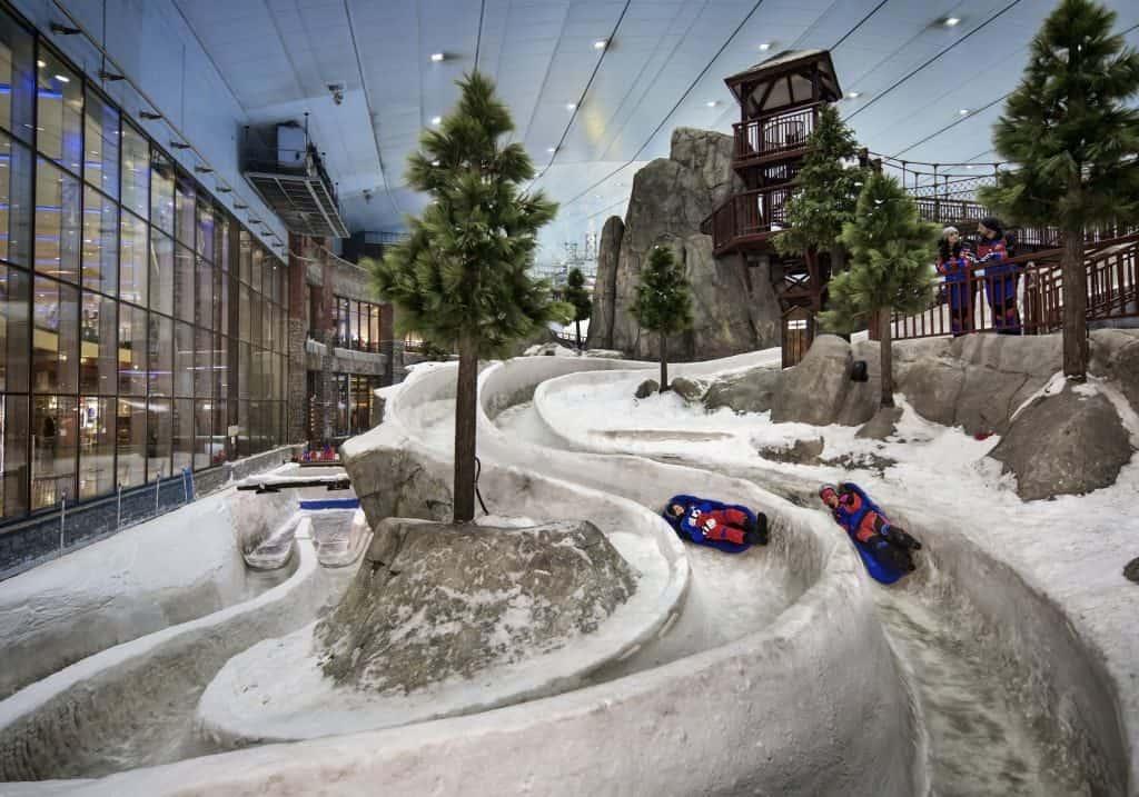 Bobbahn Ski Dubai