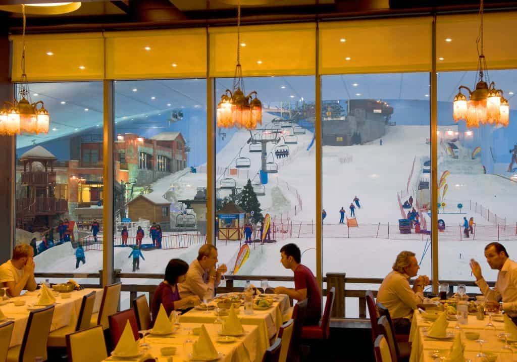 Restaurant in Ski Dubai