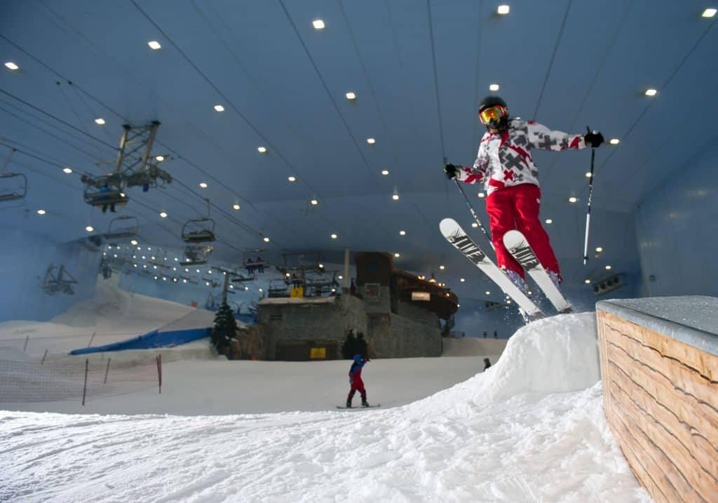 Sprungschanze Ski Dubai