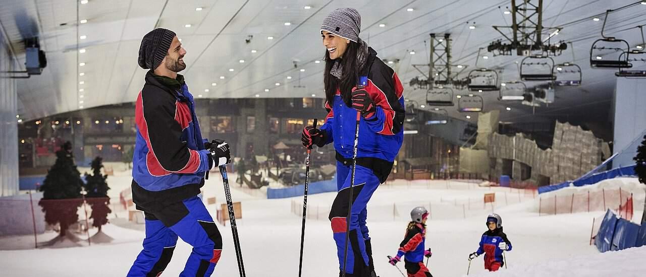 Ski Dubai Fahrer