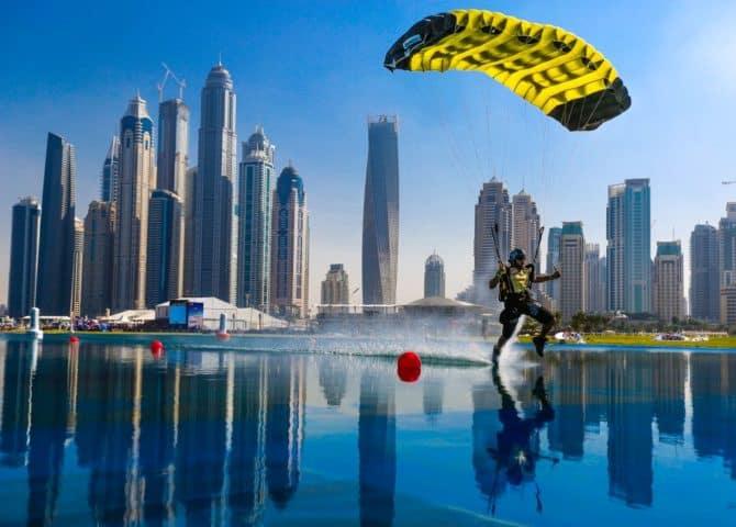 Landung Skydive