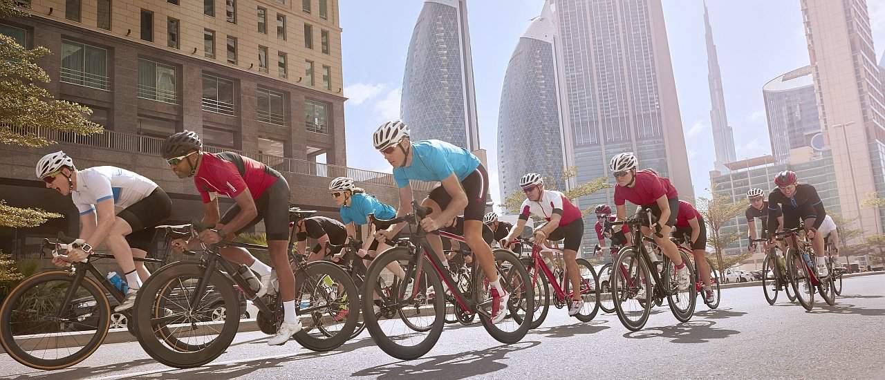 Sport Dubai Fahrrad