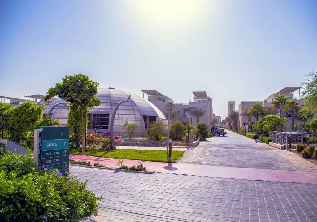 Gewächshäuser nachhaltige Stadt