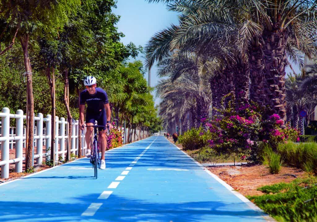 Fahrradweg Sustainable City Dubai
