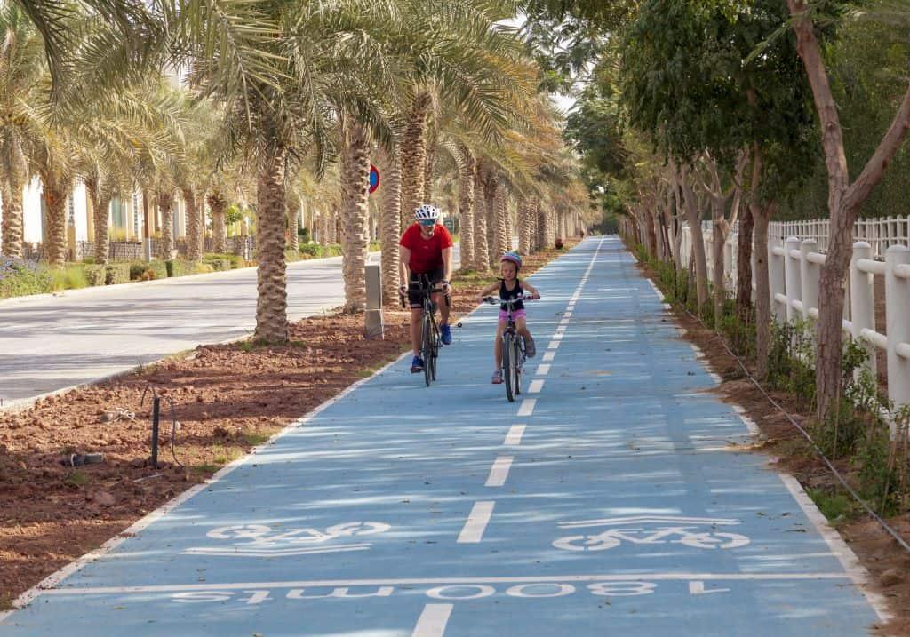 Fahrrad in Dubai
