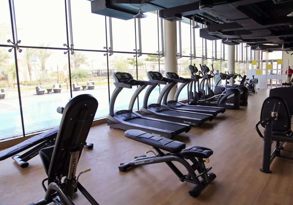 gym Dubai nachhaltige stadt
