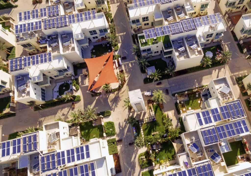 Villenviertel nachhaltige Stadt Dubai