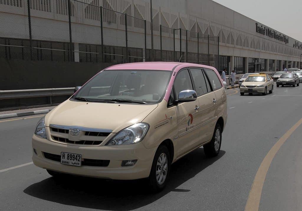 Taxi für Frauen in Dubai