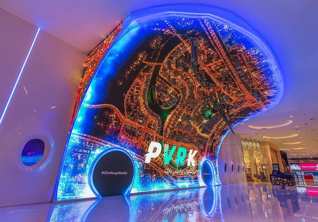 Dubai Mall VR Park