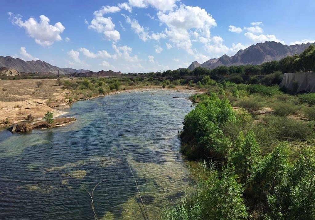 Wadi in Hatta