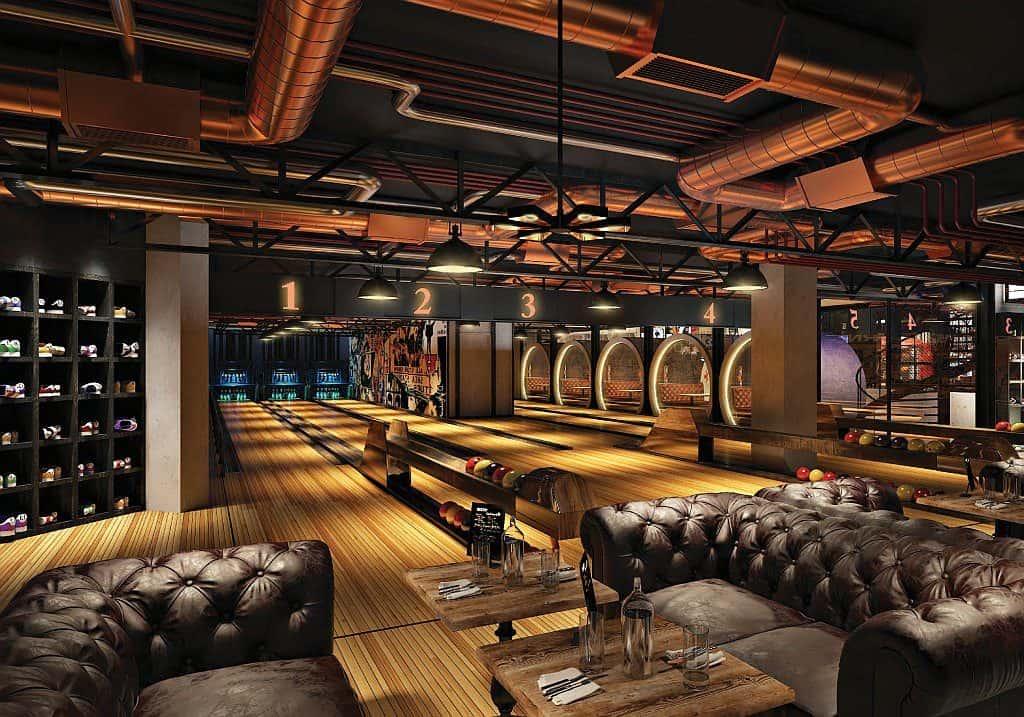 Bowling im Wavehouse Dubai