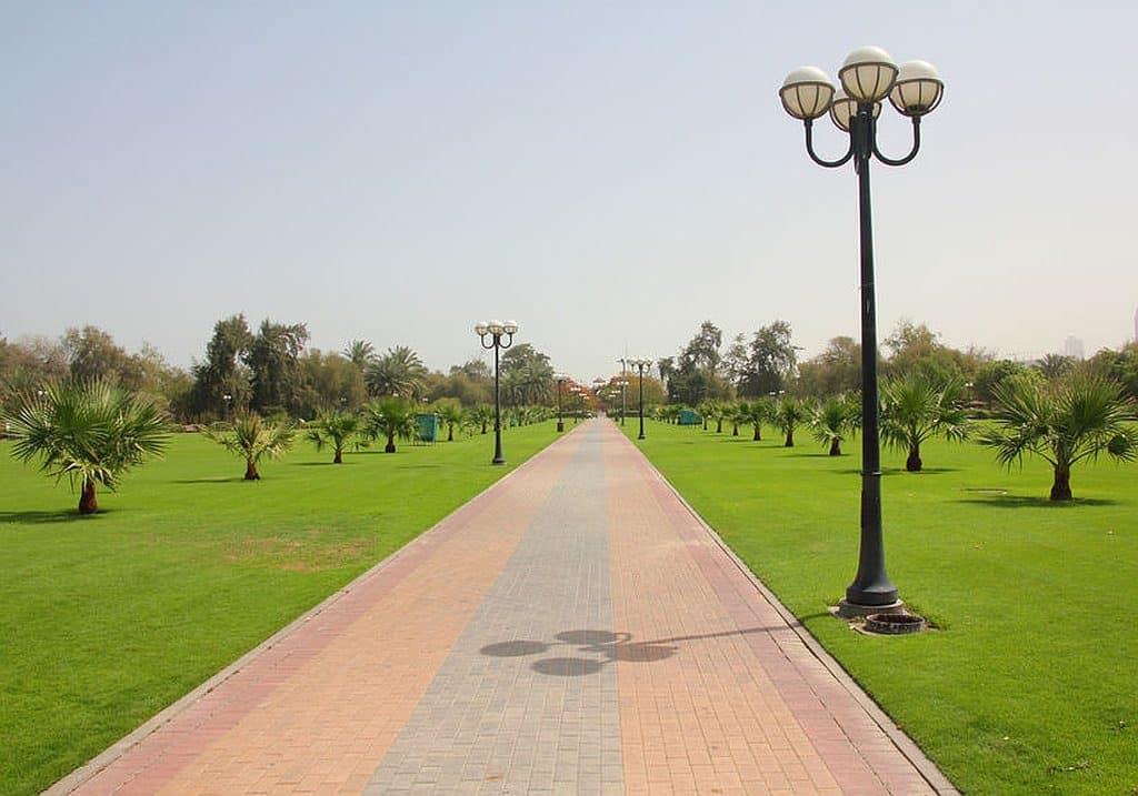 Gehweg Al Mamzar Park Dubai