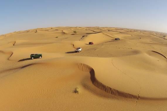 Exklusive Wüstentouren im Emirat Dubai