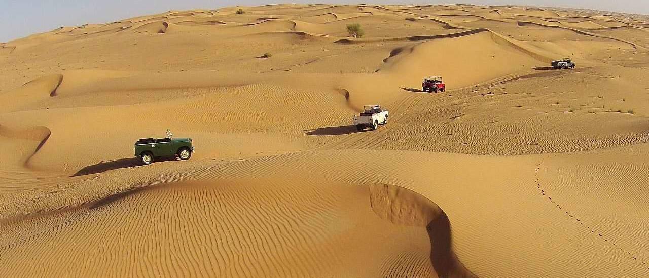 Wüstenausflüge in Dubai