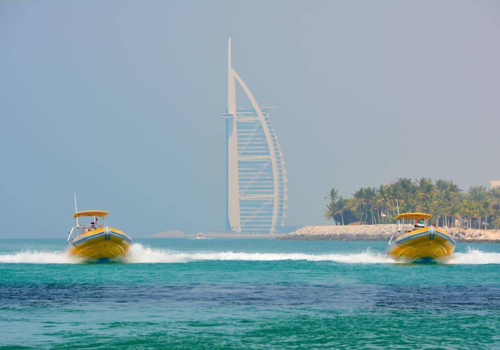 Yellow Baot Tour Burj Al Arab