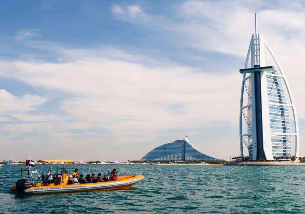Yellow Boat Burj Al Arab