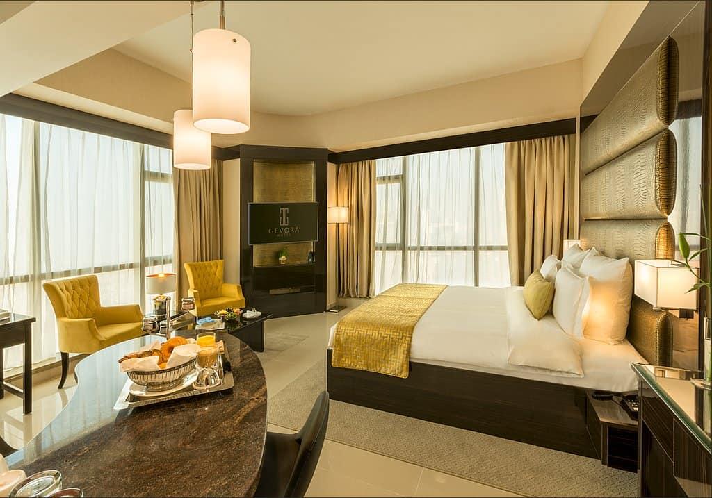 Zimmer im höchsten Hotel der Welt