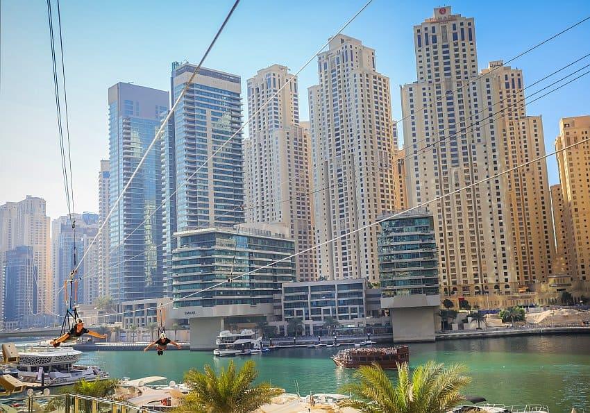 Seilbahn Dubai Marina