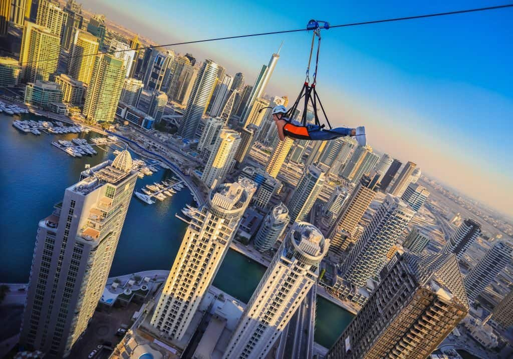 Zipline in Dubai