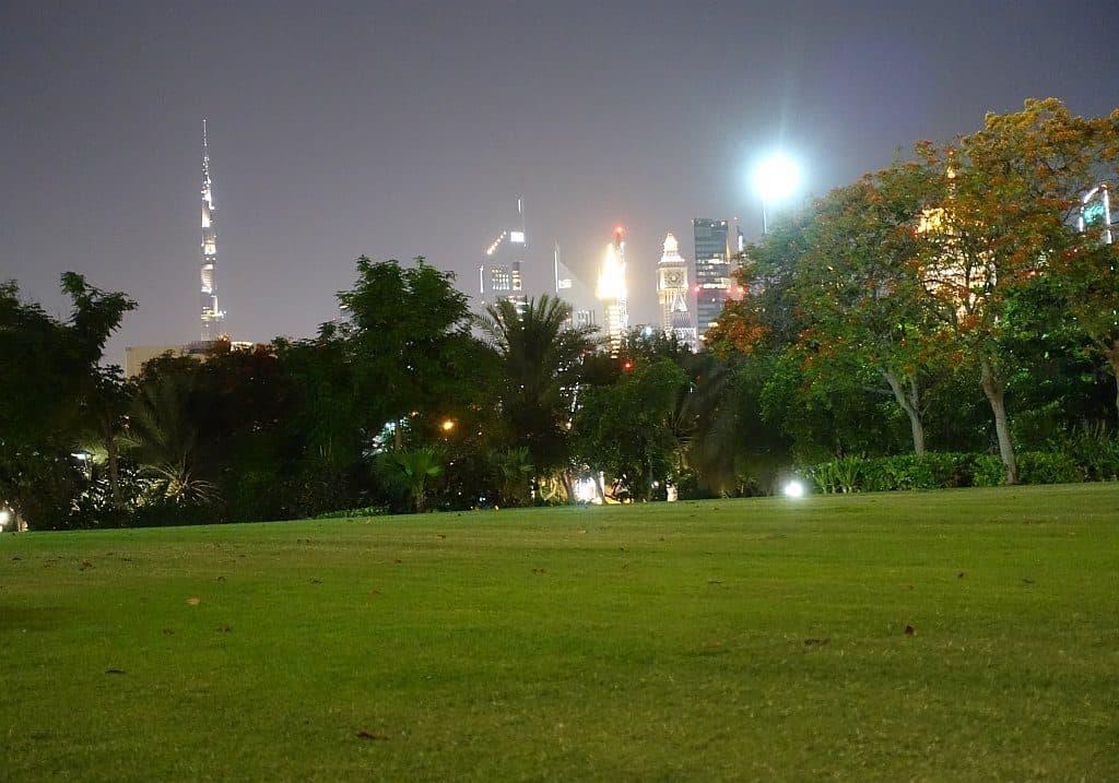 Zabeel Park am Abend