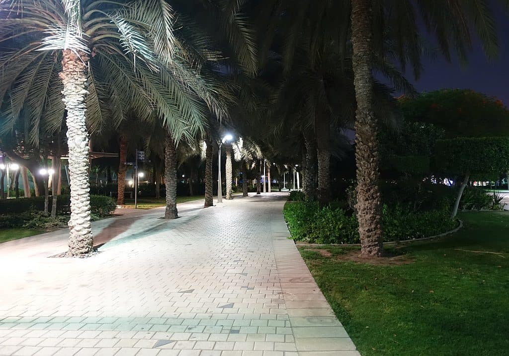 Gehweg Zabeel Park Dubai